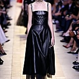 The dress first appeared on the Christian Dior catwalk at Paris Fashion Week.