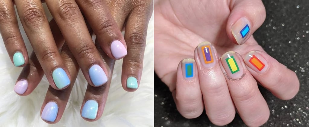 Gel Manicures on Short Nails Are Up in Pinterest Searches
