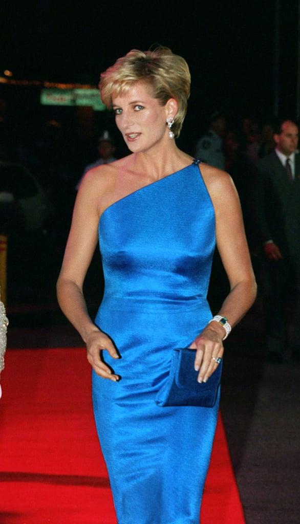 The Blue Versace Dress