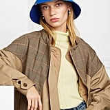 Preen by Thornton Bregazzi Holly Printed Satin Bucket Hat