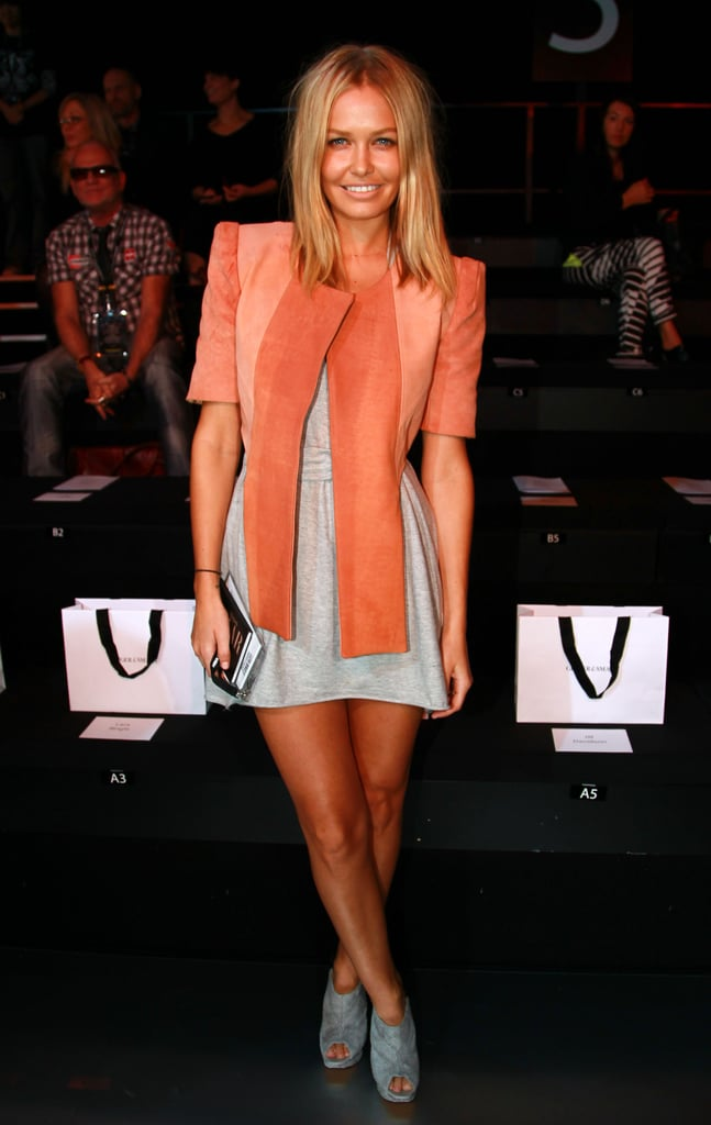 Lara Bingle at the Ginger and Smart Spring Summer 2009/2010 Show