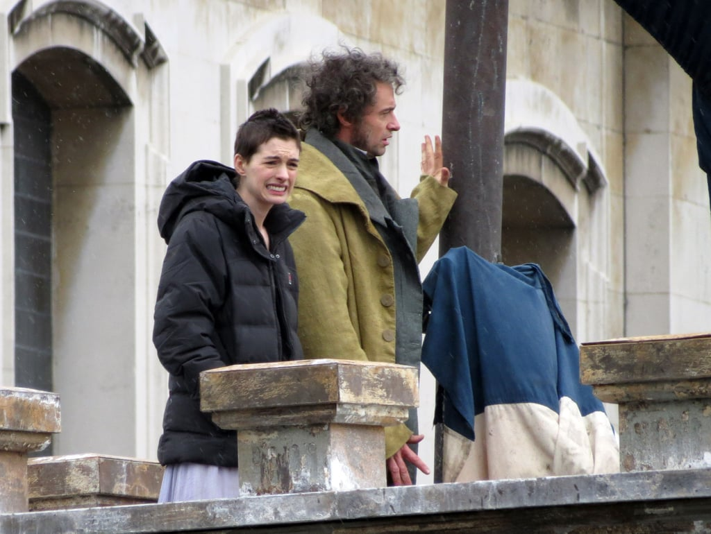 Hugh Jackman and Anne Hathaway are playing Jean Valjean and Fantine, respectively, in Les Misérables.