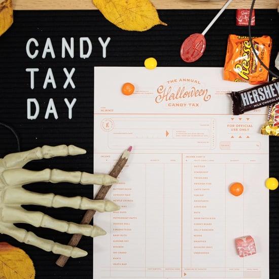 Letterfolk Halloween Parent Candy Tax Form