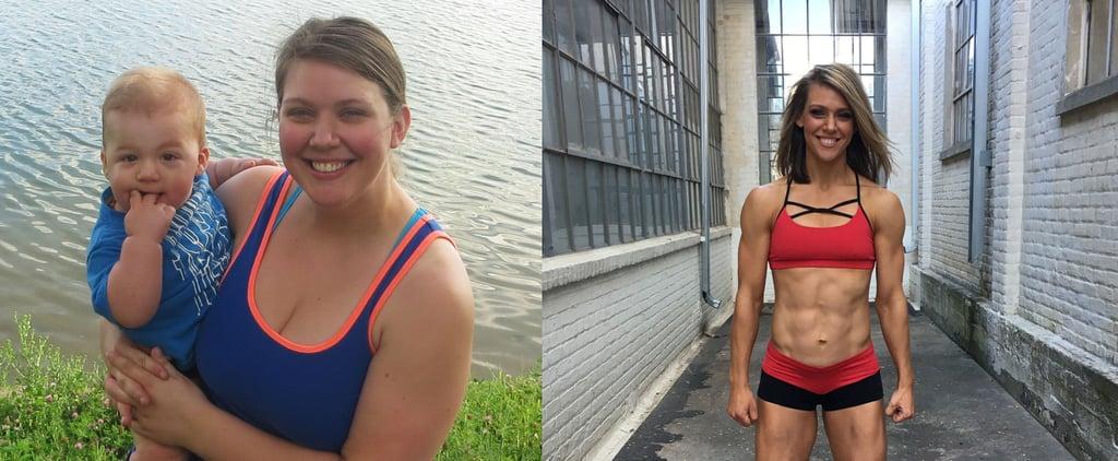 100-Pound Postpartum Weight-Loss Transformation