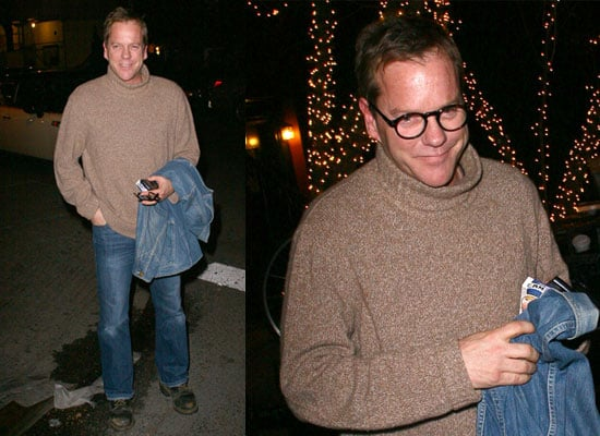 Photos of Kiefer Sutherland in New York