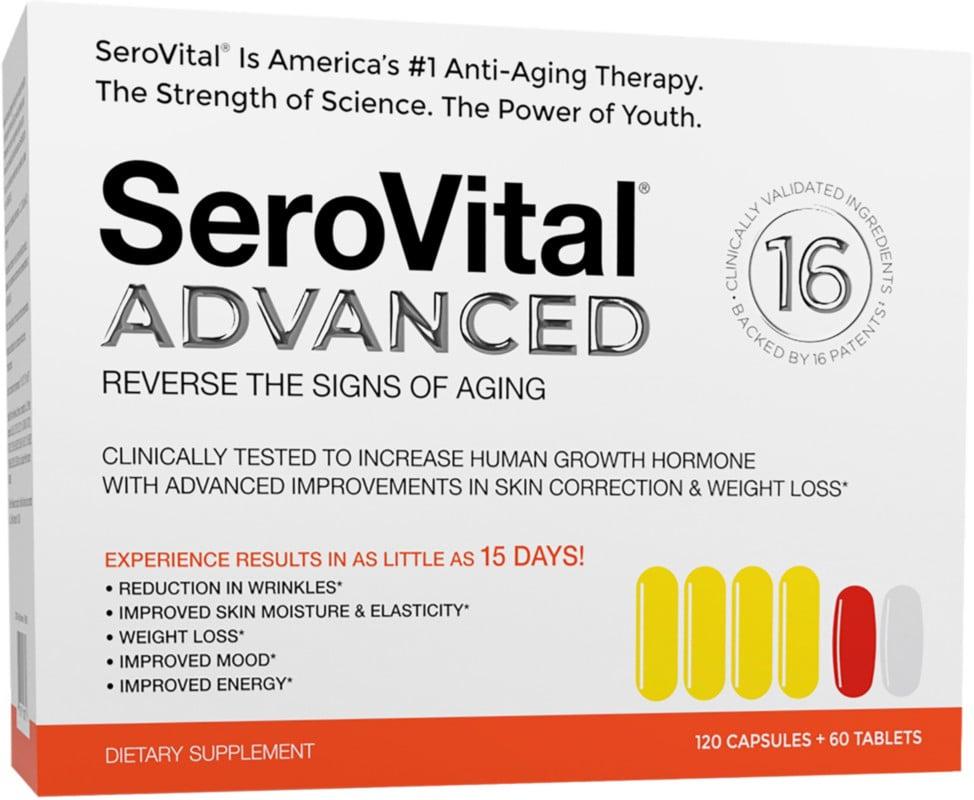 SeroVital Advanced 180 ct