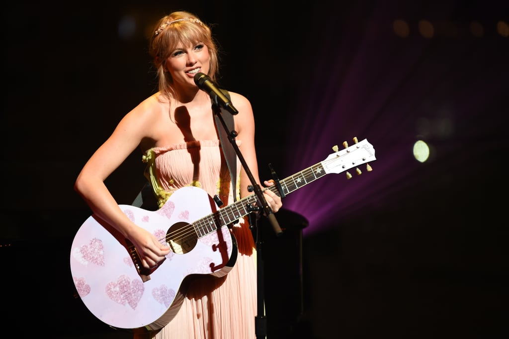As any Swiftie knows, Taylor expresses herself best through song, and her Lover album gave us even more rare glimpses into her personal life. While Taylor's Reputation album included tongue-in-cheek songs about her public persona, her Lover album was the complete opposite. Of course, there were songs about her romance with Joe Alwyn, but she also showed a more vulnerable side as she opened up about her mom Andrea's battle with cancer. She even touched on mental health as she talked about her overbearing anxiety in the album's prologue letter.