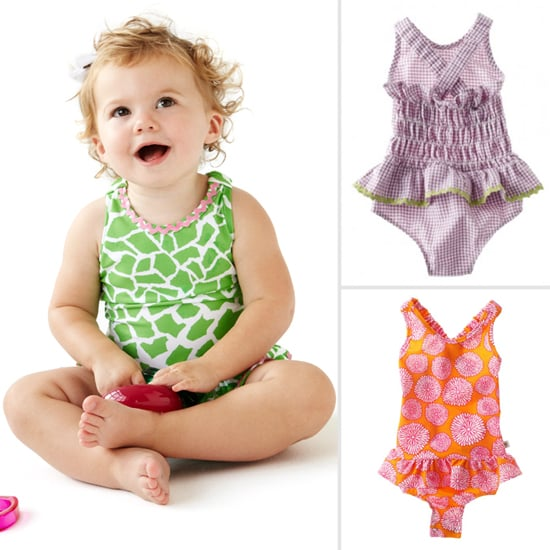 Snap Up These Swimsuits! A New Cute, Clever Line For Lil Girls