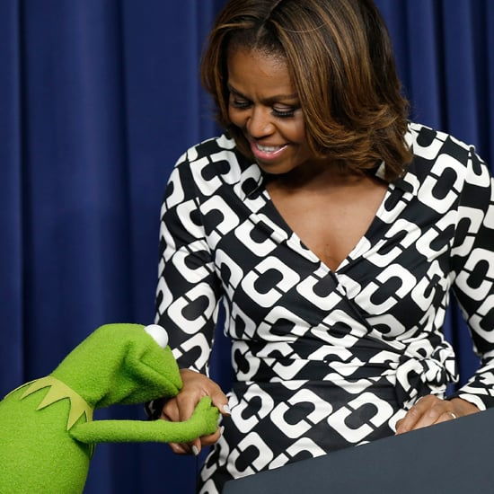 Michelle Obama and Kermit the Frog | Pictures