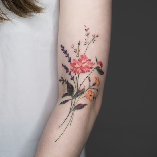 Wildflower Tattoo Ideas