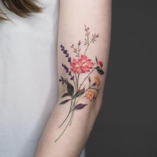Wildflower Tattoo Ideas
