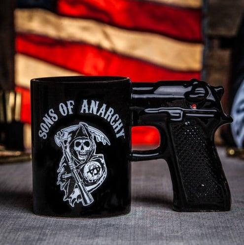 Gun Mug ($23)