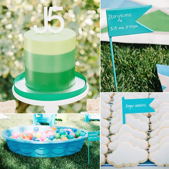 A Backyard, Bedtime-Inspired First Birthday Party