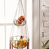 Open up counter space in the kitchen by hanging your fruit instead of leaving it in a bowl.