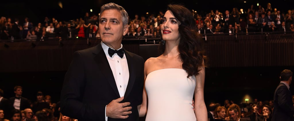 Amal Clooney's Custom Versace Is Stunning, but That's Not Why You'll Remember This Look