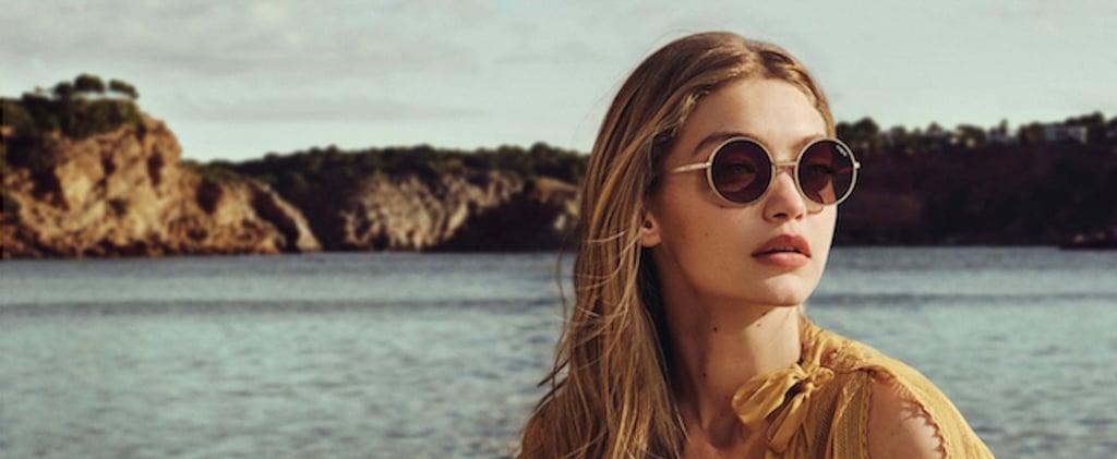 Gigi Hadid's New Vogue Eyewear Sunglasses Are So Darn Retro-Fab, You'll Want Every Pair
