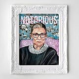 Notorious RBG Oil Painting