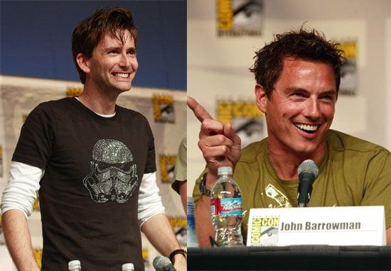 Photos And Video Of John Barrowman and David Tennant At Comic-Con 2009 Kissing, At Panel For Torchwood and Doctor Who