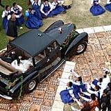 Prince Tupouto'a 'Ulukalala and Sinaitakala Tu'imatamoana 'i Fanakavakilangi Fakafanua