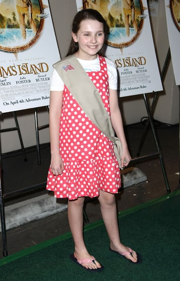 Abigail Breslin as a Girl Scout