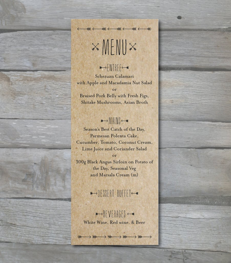 Arrow Menus