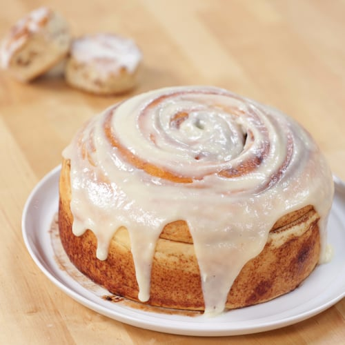 Cinnamon Bun Cake Recipe On Facebook