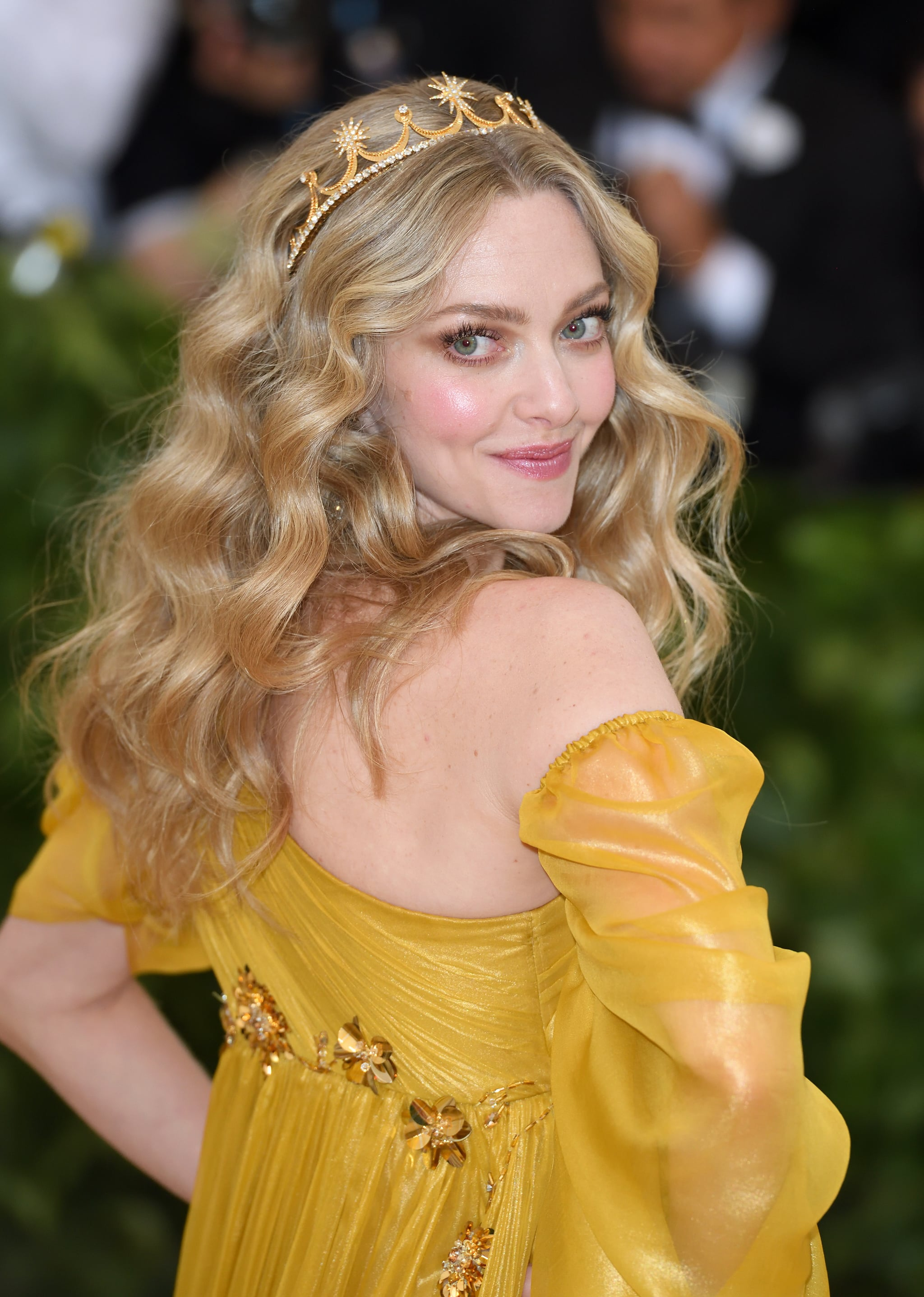 NEW YORK, NY - MAY 07:  Amanda Seyfield attends the Heavenly Bodies: Fashion & The Catholic Imagination Costume Institute Gala at Metropolitan Museum of Art on May 7, 2018 in New York City.  (Photo by Karwai Tang/Getty Images)