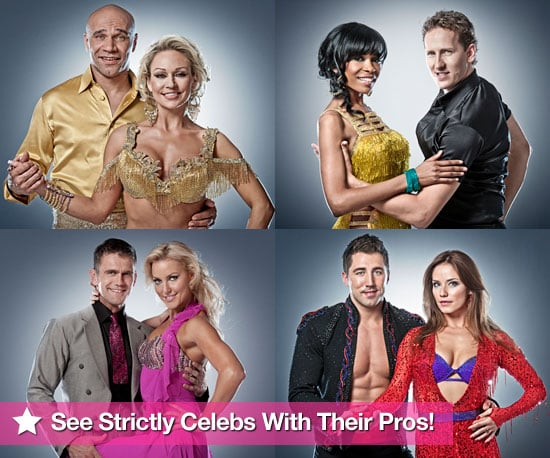 Pictures of Strictly Come Dancing Celebrity Lineup 2010 With Their Professional Dancers