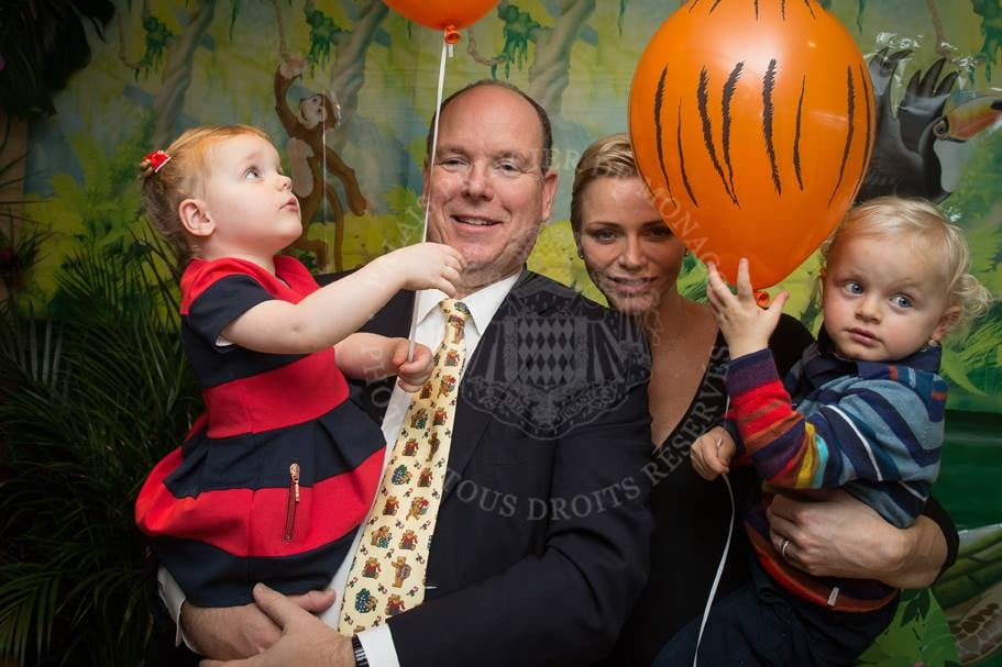 Prince Albert II and Princess Charlene went all out for Prince Jacques and Princess Gabriella's second birthday party at the Société Nautique de Monaco sports club on Wednesday. Although the twins didn't turn 2 until Dec. 10, the party took place a few days earlier because Charlene is currently in India for the Children's Rights Summit. The safari-themed bash was attended by Jacques and Gabriella's nursery classmates, and, fortunately, the palace's official Facebook page shared photos from the extravaganza on Saturday. The snapshots show the little ones looking adorable in matching striped outfits and the club's restaurant area transformed into an African outpost with fun cutouts, colouring tables, toy animals, and miniature-sized Jeeps. Check out more pictures below!      Related:                                                                                                           Prince Jacques and Princess Gabriella Wear Matching Outfits For Monaco's National Day