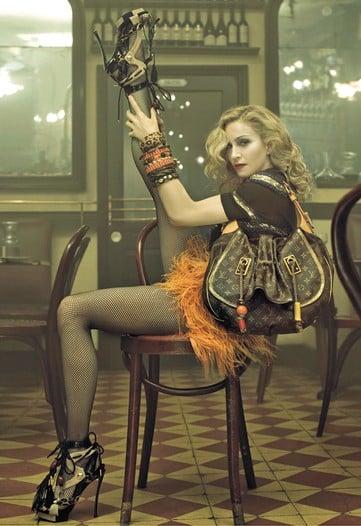 Madonna does Louis Vuitton