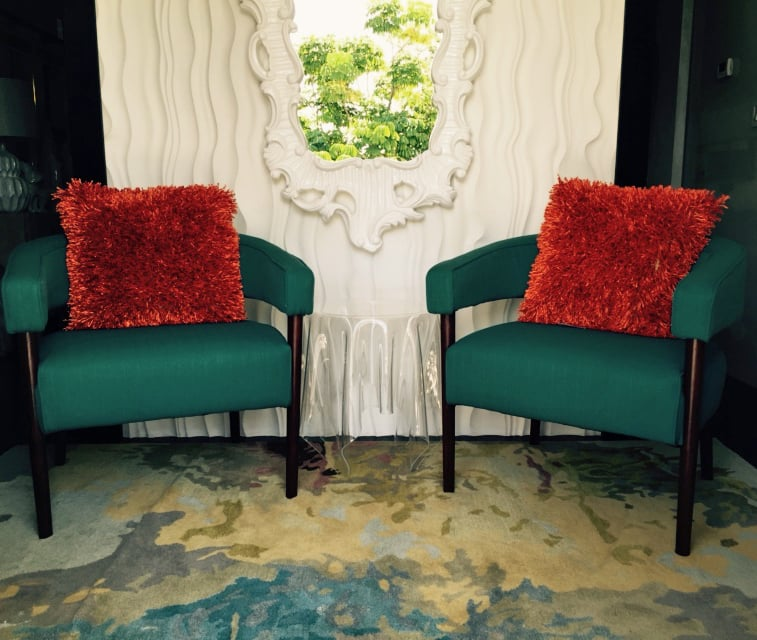 There's even more seating in the entryway thanks to two Dumont Chairs ($349, originally $399).