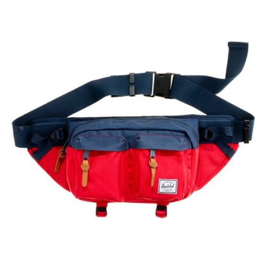 I love the colorblocked vibe of this  Herschel Supply Company Fanny Pack ($45) with easy access and a fashionable flair.