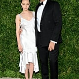 Amanda Seyfried and Riccardo Tisci