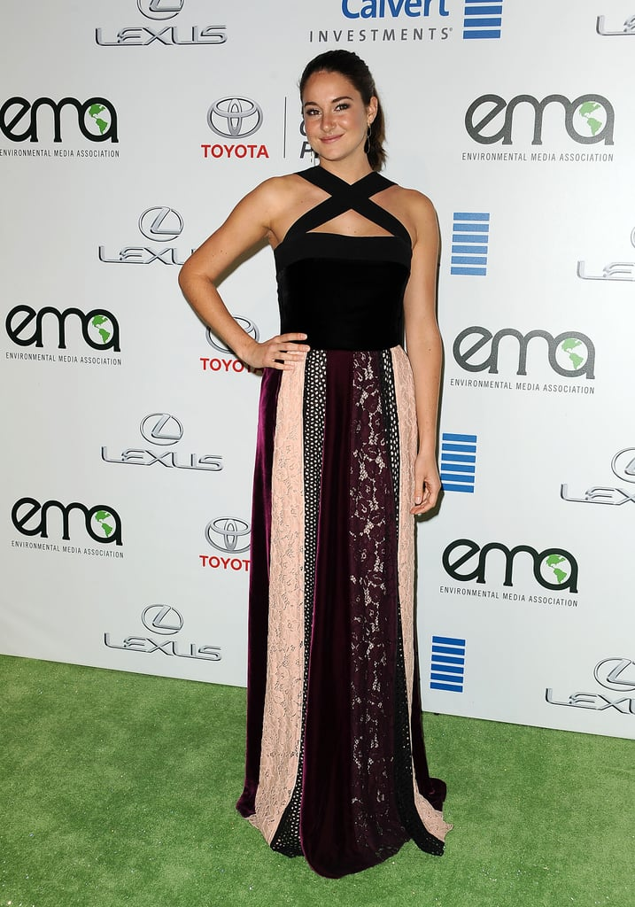 Shailene at the 2016 EMA Awards