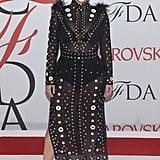 Kim Kardashian at the CFDA Fashion Awards in 2015