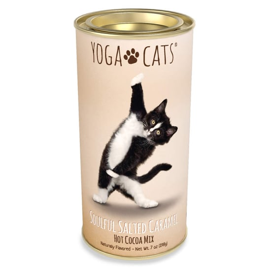 These Yoga Cat and Dog Hot Cocoa Mixes Make the Best Gift