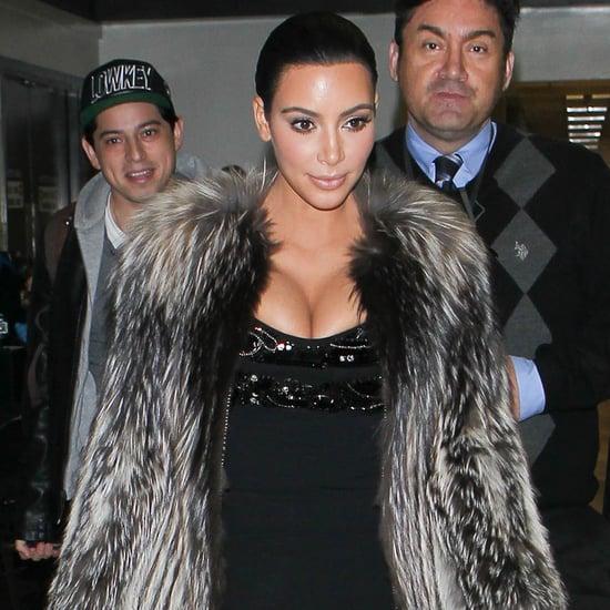 Kim Kardashian Airport Style