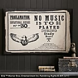 Proclamation Pinboard ($99)