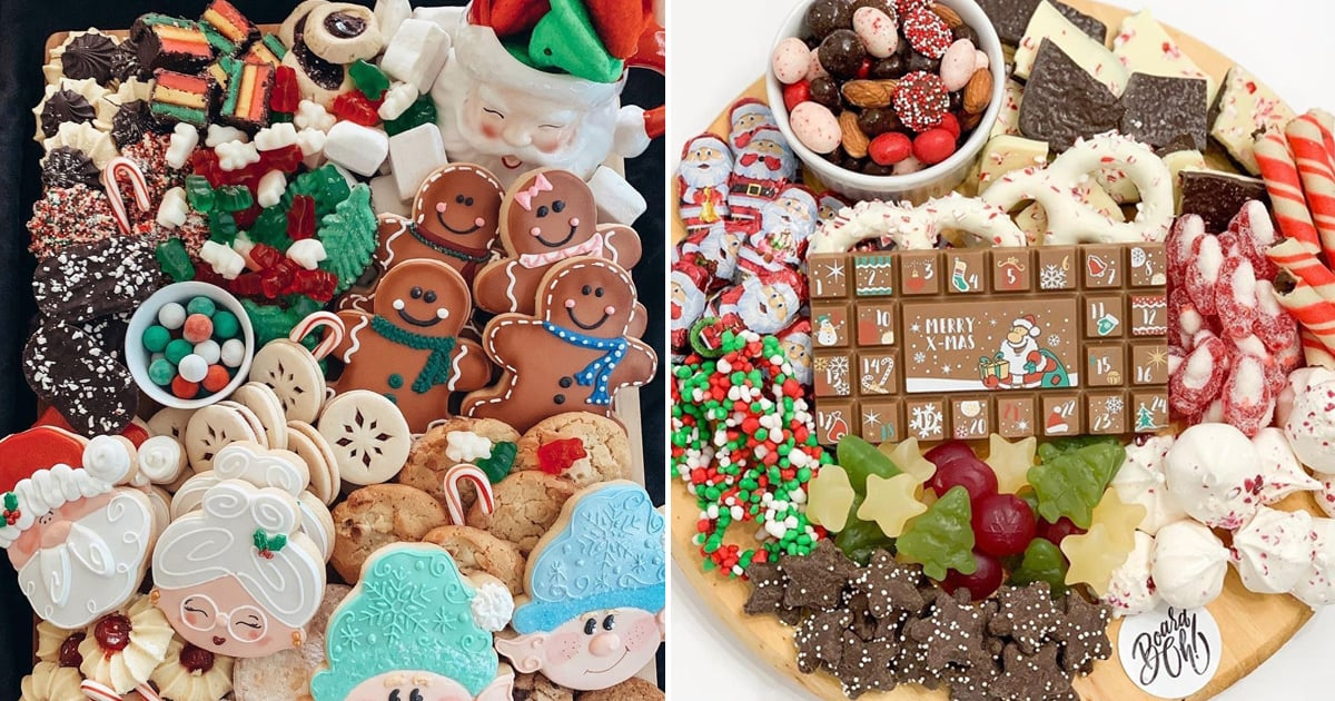 30 Christmas Cookie Charcuterie Boards That'll Have Santa Coming Back For Seconds