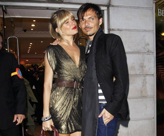 Slide Picture of Sienna Miller and Matthew Williamson