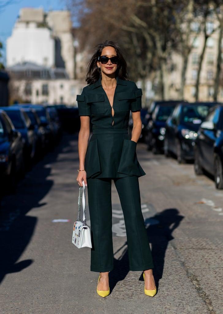 Street Style Haute Couture Fashion Week Spring 2016 Popsugar Fashion