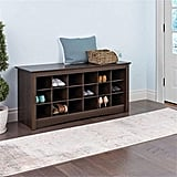 Pemberly Row Cubby Shoe Storage Bench