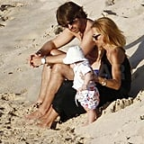 Rachel Zoe and Her Boys Have Another Picture-Perfect St. Barts Beach Day
