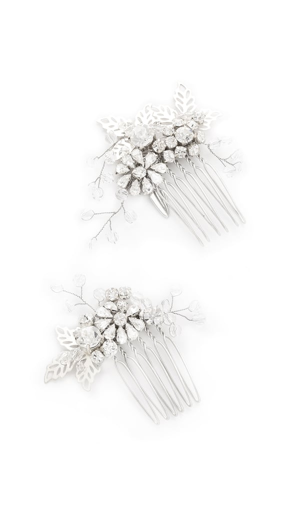 Jenny Packham Lazuline Crystal Comb Set ($351)