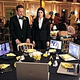 Stephen Guarino and Casey Wilson on Happy Endings. Photo copyright 2012 ABC, Inc.