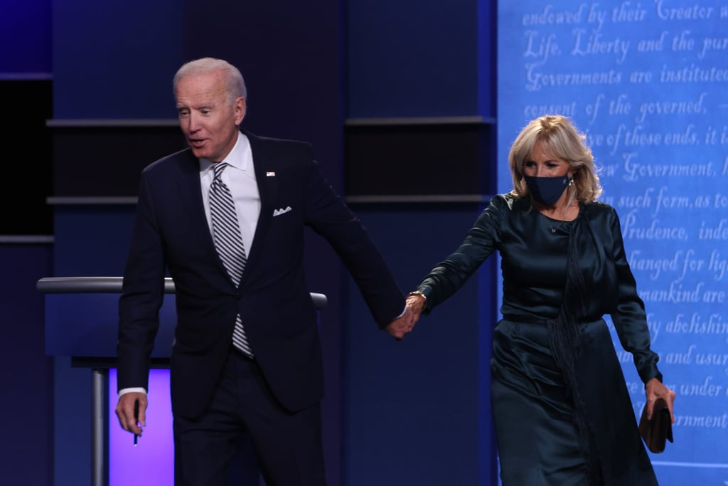 Jill Biden Wearing Her Gabriela Hearst Dress at the Presidential Debate