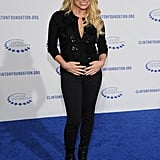 Fitness guru Tracy Anderson opted for pants instead of a gown.