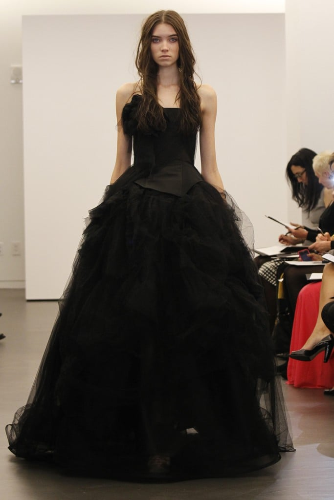 Vera Wang Bridal Fall 2012 Vera Wang Black Wedding Dresses