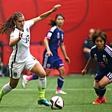 Alex Morgan at the 2015 FIFA Women's World Cup