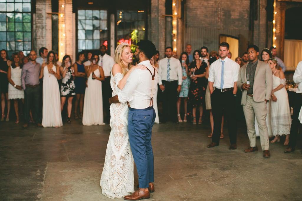 Boho-Chic Factory Wedding